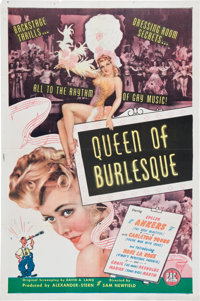 Queen of Burlesque Movie Poster (PRC, 1946)