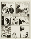 "Original Comic Art:Panel Pages, Jaime Hernandez Love and Rockets #16 ""House of Raging Women"" Page #12 (Fantagraphics, 1986)...."