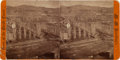 """Photography:Stereo Cards, Rare C. 1880 Stereo View of """"Boise Barracks""""..."""