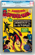 Silver Age (1956-1969):Superhero, The Amazing Spider-Man #12 Twin Cities pedigree (Marvel, 1964) CGCNM 9.4 Off-white to white pages....