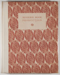 Books:Books about Books, Modern Book Production. London: Studio, 1928. First edition, first printing. Quarto. 186 pages. Publisher's binding ...