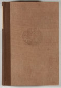 Books:Books about Books, A. S. W. Rosenbach. SIGNED/LIMITED. Books and Bidders: The Adventures of a Bibliophile. Boston: Little, Brown, 1927....