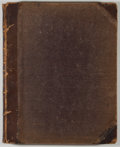 Books:Periodicals, The New York Journal. Bound Volume of Issues from 1854including July - December. Contemporary half leather with rub...