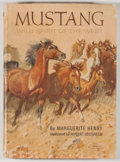 Books:Americana & American History, Marguerite Henry. Mustang: Wild Spirit of the West. Chicago:Rand McNally, [1966]. First edition, first printing...