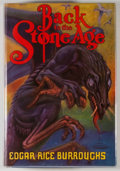 Books:Science Fiction & Fantasy, [JERRY WEIST COLLECTION]. Edgar Rice Burroughs. Back to theStone Age. Tarzana: Edgar Rice Burroughs, [1937]. First ...