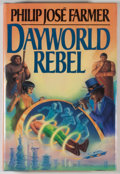 Books:Science Fiction & Fantasy, [JERRY WEIST COLLECTION]. Philip Jose Farmer. SIGNED. Dayworld Rebel. New York: Ace/Putnam, [1987]. First edition, f...