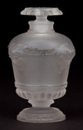 Art Glass:Lalique, R. LALIQUE FROSTED GLASS PERFUME BOTTLE FOR GUERLAIN . Circa 1925.Molded: Made in France . 4 inches high (10.2 cm). ...
