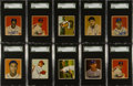 Baseball Cards:Sets, 1949 and 1950 Bowman Baseball Collection (346) Including ManyHoFers and Rookie Cards. ...
