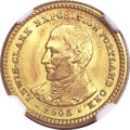 1905 G$1 Lewis and Clark MS66+ NGC....(PCGS# 7448)