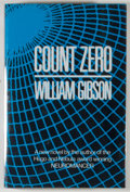 Books:Science Fiction & Fantasy, [JERRY WEIST COLLECTION]. William Gibson. Count Zero. London: Gollancz, 1986. First edition, first printing. Oct...