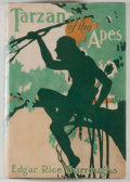 Books:Science Fiction & Fantasy, [JERRY WEIST COLLECTION]. Edgar Rice Burroughs. Tarzan of the Apes. New York: Burt, [1914]. Later edition. Octavo. 4...