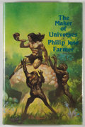 Books:Science Fiction & Fantasy, [JERRY WEIST COLLECTION]. Philip Jose Farmer. INSCRIBED TO WEIST. The Maker of Universes. Huntington Woods: Phantasi...