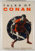 Books:Science Fiction & Fantasy, [JERRY WEIST COLLECTION]. Robert E. Howard and L. Sprague de Camp. Tales of Conan. New York: Gnome Press, [1955]. Fi...