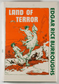 Books:Science Fiction & Fantasy, [JERRY WEIST COLLECTION]. Roy G. Krenkel [illustrator]. Edgar Rice Burroughs. Land of Terror. New York: Canaveral Pr...