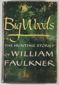 Books:Literature 1900-up, William Faulkner. Big Woods. New York: Random House, [1955].First edition, first printing with first issue jacket w...