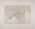 Antiques:Posters & Prints, Samuel Dunn. Striking Engraved Map of Italy with Hand-Coloring.London: Laurie & Whittle, 1794. Measures 18.5 x 22 inches. F...