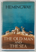 Books:Literature 1900-up, Ernest Hemingway. The Old Man and the Sea. New York:Scribner's, 1952. First edition with remainder blindstamp t...