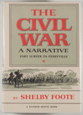 Books:Americana & American History, Shelby Foote. The Civil War: A Narrative. New York: Random House, [1958-1974]. Later printings. Three octavo volumes... (Total: 3 Items)