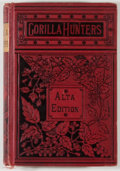 Books:Sporting Books, R. M. Ballantine. The Gorilla Hunters. A Tale of theWilds of Africa. Philadelphia: Porter & Coates, n.d. Altae...