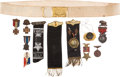 Militaria:Insignia, Grand Army of the Republic Medal, Badge, and Ribbon Collection,...