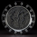 Art Glass:Lalique, LALIQUE CLEAR AND FROSTED GLASS COTE D'OR PLATTER . Post1945. Engraved: Lalique, France. 15-3/4 inches diam...