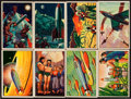 """Non-Sport Cards:Sets, 1951 Bowman """"Jets, Rockets and Spacemen"""" Complete Set (108) PlusExtended Series (45). ..."""