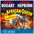 "Movie Posters:Adventure, The African Queen (United Artists, 1952). Six Sheet (81"" X 81"").. ..."