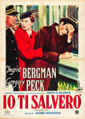 "Movie Posters:Hitchcock, Spellbound (Aristi, 1948). Italian 2 - Foglio (39"" X 55"").. ..."