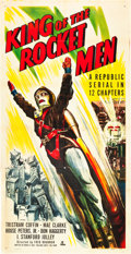 "Movie Posters:Serial, King of the Rocket Men (Republic, 1949). Three Sheet (41"" X 81"")....."