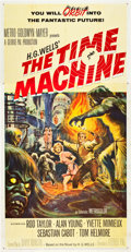 "Movie Posters:Science Fiction, The Time Machine (MGM, 1960). Three Sheet (41"" X 81"").. ..."