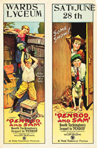 "Penrod and Sam (First National, 1923). One Sheet (27"" X 41"")"