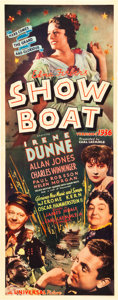 "Movie Posters:Musical, Show Boat (Universal, 1936). Insert (14"" X 36"").. ..."