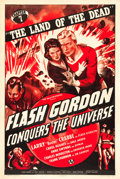 "Movie Posters:Serial, Flash Gordon Conquers the Universe (Universal, 1940). One Sheet(27"" X 41"") Chapter 7 -- ""The Land of the Dead."". ..."