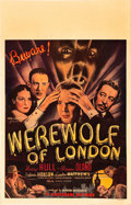 "Movie Posters:Horror, Werewolf of London (Universal, 1935). Window Card (14"" X 22"").. ..."