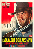 "Movie Posters:Western, For a Few Dollars More (PEA, 1965). Italian 4 - Foglio (55"" X78"").. ..."
