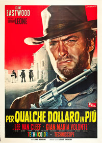 "For a Few Dollars More (PEA, 1965). Italian 4 - Foglio (55"" X 78"")"