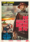 "Movie Posters:Western, For a Few Dollars More (PEA, 1965). Italian 2 - Foglio (39"" X55"").. ..."
