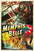 "Movie Posters:War, The Memphis Belle (Paramount, 1944). One Sheet (27"" X 41"").. ..."