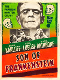 "Movie Posters:Horror, Son of Frankenstein (Realart, R-1953). Poster (30"" X 40"").. ..."