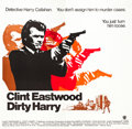 "Movie Posters:Crime, Dirty Harry (Warner Brothers, 1971). Six Sheet (78"" X 80"").. ..."