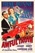 "Movie Posters:Comedy, The Awful Truth (Columbia, 1937). One Sheet (27"" X 41"").. ..."