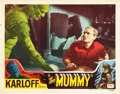 "Movie Posters:Horror, The Mummy (Realart, R-1951). Lobby Card (11"" X 14"").. ..."