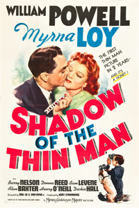 """Shadow of the Thin Man (MGM, 1941). One Sheet (27"""" X 41"""") Style C"""