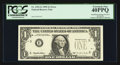 Error Notes:Error Group Lots, Fr. 1921-E $1 1995 Federal Reserve Note. PCGS Extremely Fine40PPQ;. Fr. 1975-G $5 1977A Federal Reserve Note. PCGS Extrem...(Total: 2 notes)