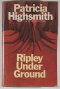 Books:Signed Editions, Patricia Highsmith. SIGNED. Ripley Under Ground. London:Heinemann, [1971]. First UK edition. Signed by Highsm...