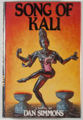 Books:Horror & Supernatural, Dan Simmons. SIGNED. Song of Kali. [New York]: Bluejay Books, [1985]. First Bluejay printing. Signed by the au...