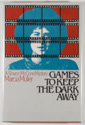 Books:Mystery & Detective Fiction, Marcia Muller. SIGNED. Games to Keep the Dark Away. New York: St. Martin's, [1984]. First edition. Signed by t...