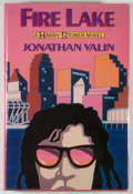 Books:Mystery & Detective Fiction, Jonathan Valin. Fire Lake. New York: Delacorte Press,[1987]. First printing. Octavo. 254 pages. Publisher's binding...