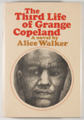 Books:Literature 1900-up, Alice Walker. SIGNED. The Third Life of Grange Copeland. NewYork: Harcourt Brace Jovanovich, [1970]. First edit...