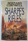 Books:Fiction, Bernard Cornwell. SIGNED. Sharpe's Rifles. London: Collins,1988. First edition. Signed by the author. Octav...
